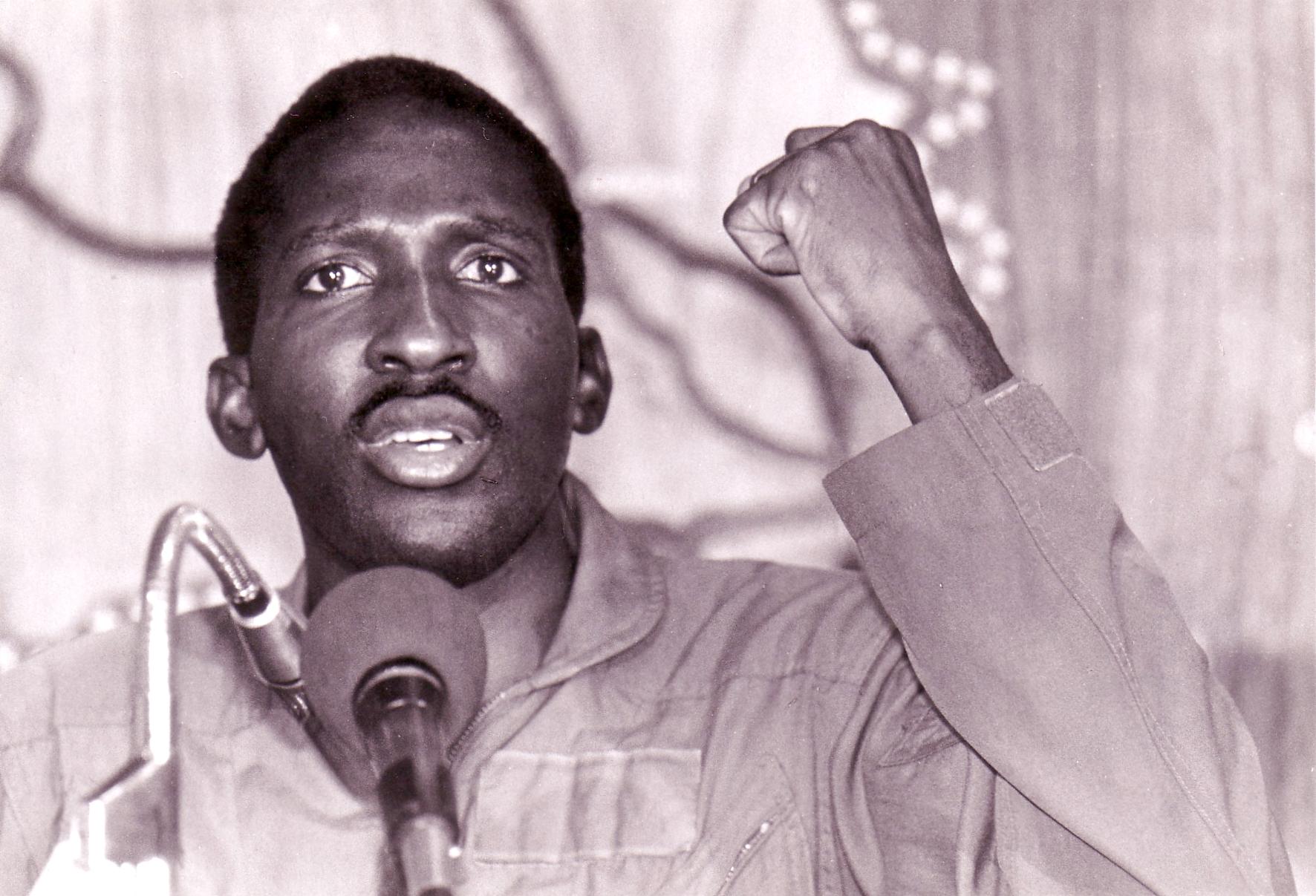 Thomas Sankara au sommet D'Addis Abéba