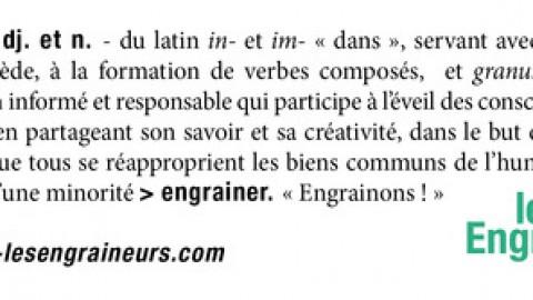 """Rencontre avec le collectif citoyen """"les Engraineurs"""""""
