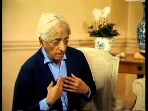 Jiddu Krishnamurti et Jean-Louis Dewez – La nature de la pensée (1979) FR