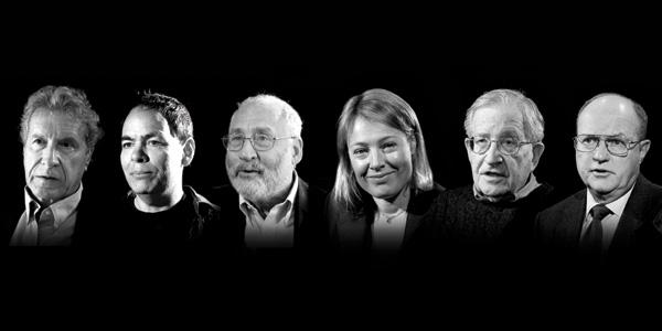 Four Horsemen - Les Quatre Cavaliers (avec Joseph Stiglitz, Noam Chomsky, etc.)