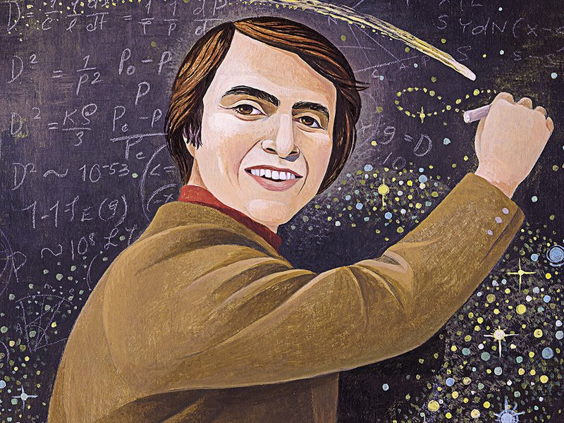 Carl Sagan – L'Être Humain et la Planète Terre