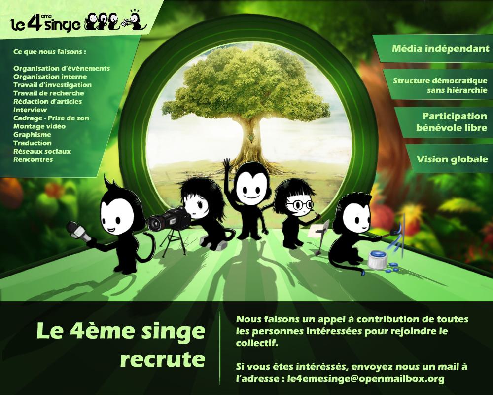 recrutement 4eme singe