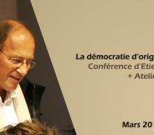 Conférence d'Étienne Chouard et atelier constituant (Montreuil, mars 2016)